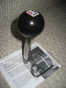 Details about HURST Automatic Shifter Comp Stick kit BLACK LOGO Shift Knob  Avenger Journey 200