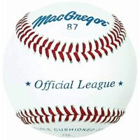 Macgregor 87ol Official League Baseball (one Dozen) on sale