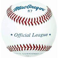 Macgregor 87ol Official League Baseball (one Dozen) on sale