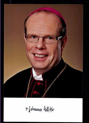 Autogramme & Autographen Religion Herzhaft Johannes Wübbe Foto Original Signiert ## Bc 56504