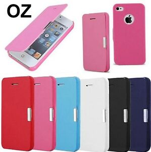 Ultra-Slim-Magnetic-Flip-Leather-Case-Cover-for-Apple-iPhone-4-iPhone-4S