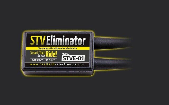 Healtech Electrónico Secundario Regulador Válvula Eliminator STVE-07 Kawasaki