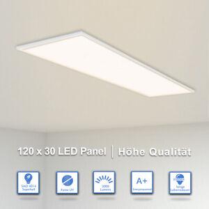 Details zu LED Panel Ultraslim Deckenleuchte Deckenlampe Wandleuchte Flach  Leuchte Küche