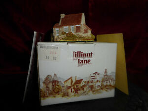 LILLIPUT-LANE-Inglewood-Miniature-Masterpieces-Ornament-Box-amp-Deed-amp-Catalogue