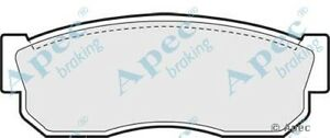 1x-OE-Quality-Replacement-Apec-Front-Axle-Brake-Pad-Set