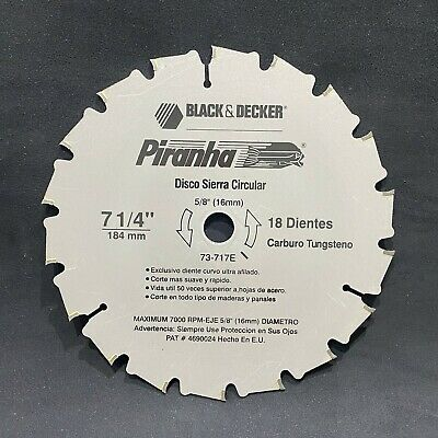None-Stick Coating! 184mm x 16mm  40T Curved TCT Circular Saw Blade Fine Wood