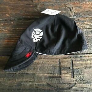 18d18d0d3f3 WELDING ROD SKULL  GLOW-N-DARK  Black Weld Hat Welder Hats Cap Biker ...