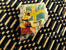 SWEDEN FLAG Coca-Cola 1984 Summer Olympics LAPEL PIN (BB)