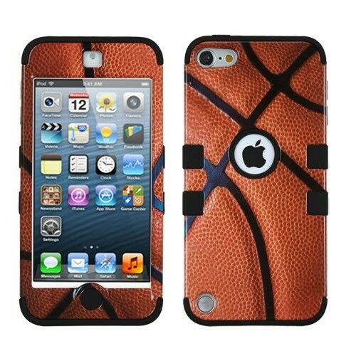 Heavy Duty Hybrid Silicone Rugged Combo Hard Case Cover For iPod Touch 5 5th Gen