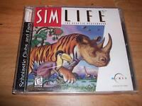 Electronic Arts Sim Life The Genetic Playground (pc Game 1998) Microsoft Windows