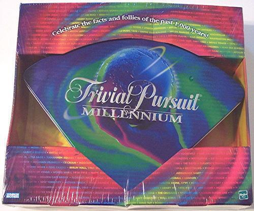 NEW SEALED Trivial Pursuit Millennium Board Game in Tin