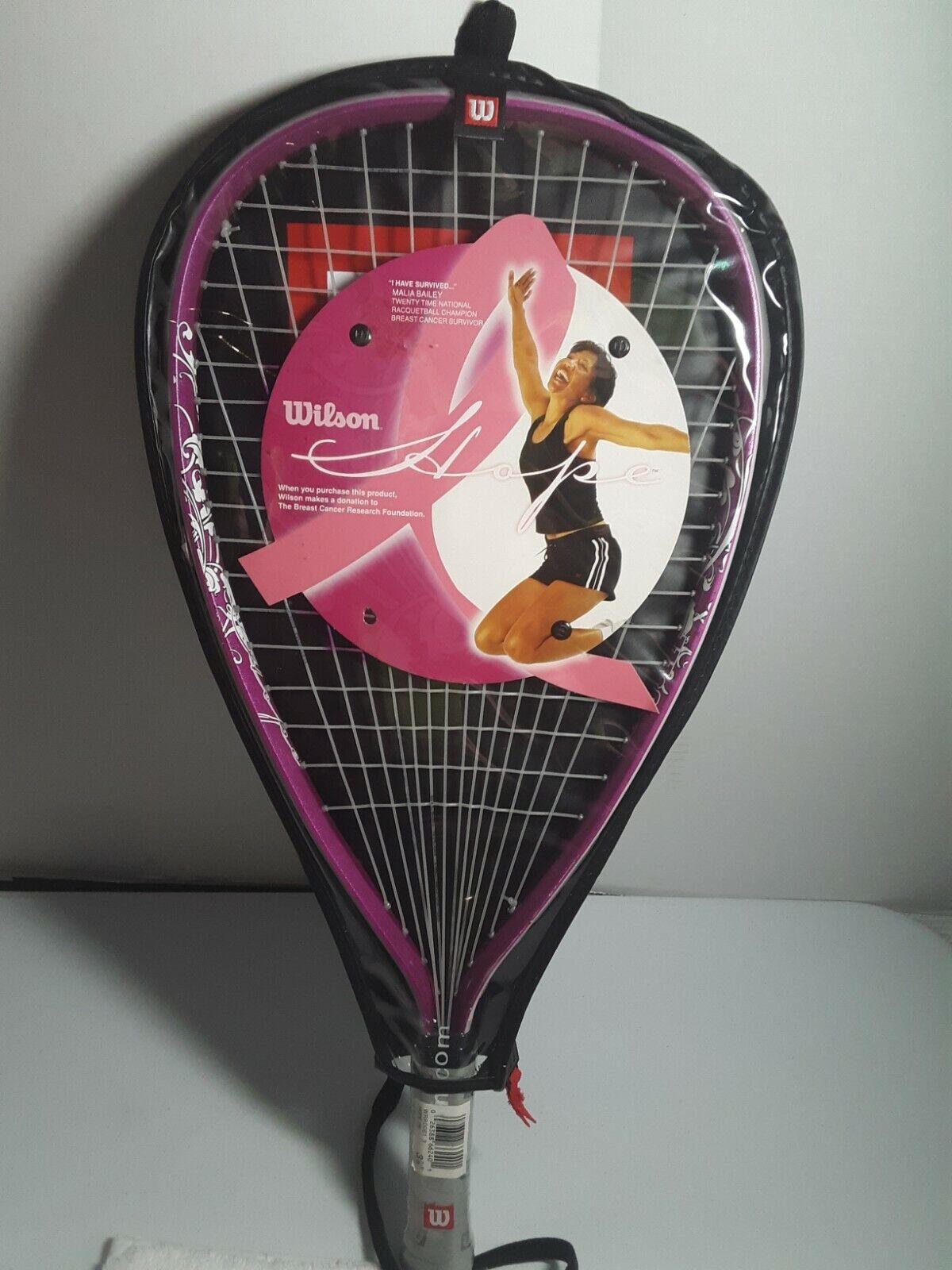 Wilson 20//20 Racquetball Pink 3 Ball Can