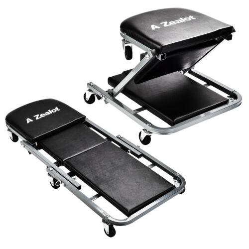 Pro-Lift Z-Creeper Seater Mechanics Workshop Rolling Chair Garage repair Stool