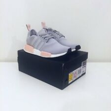 6b9101f1290 Adidas NMD R1 Runner Clear Onix Light Grey Baby Pink UK 4 Reflective 3M  OFFICE