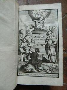 Echard-Il-Dizionario-Geografico-Del-Monde-Collombat-Rouen-Besongne-1696