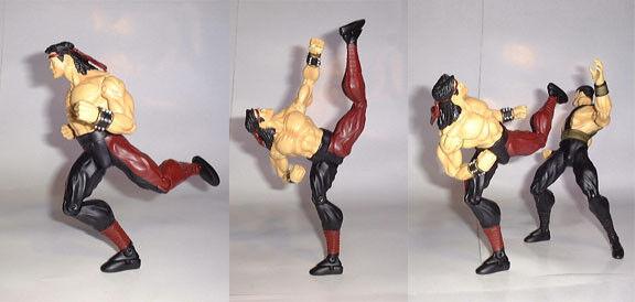 Mortal Kombat LIU KANG Infinite Concepts 2000 8.5  Loose SUPER RARE