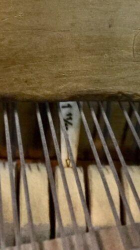 Set of 3 Grand Piano Regulating Gauges//Tools Measure//Adjust Hammer Blow//Line