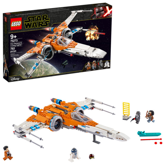 Lego #75273 STAR WARS Poe Dameron/'s X-Wing Fighter NEW IN BOX SEALED
