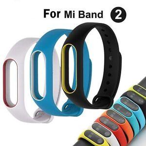 Original-Silicon-Wrist-Strap-WristBand-Bracelet-Replacement-For-XIAOMI-MI-Band-2