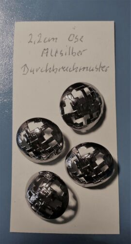 frei Vers 36 Verschiedene,je 4,5,oder 6 St. 2,8cm,Metall Große Knöpfe,2,2cm