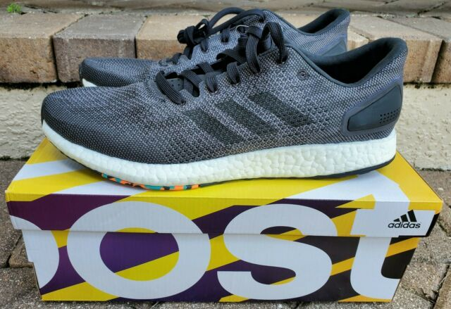Adidas PureBOOST DPR, Men's Running Shoes, Black/Gray Sz 10.5, ultra boost,