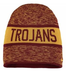 dee9358b656 Nike USC Trojans Reversible Local DNA Beanie Winter Hat NCAA College ...