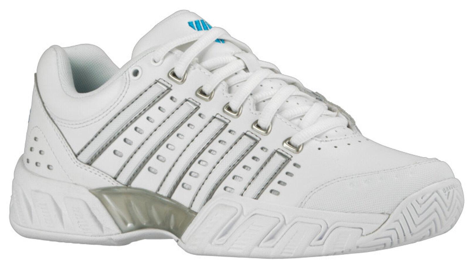 K-SWISS BIGSHOT LIGHT LEATHER Damen Outdoor Tennisschuhe 95368-159 weiß    | Feinen Qualität  | Ausgezeichnet  | Bekannt für seine hervorragende Qualität  3b5c27