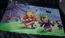Pikachu Soccer Team Sports Playmat Pokemon Trading Card Game Play Mat Futbol