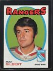 1971 Topps Rod Gilbert #123 Hockey Card
