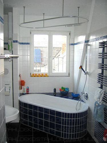Duschstange für für für Duschvorhang U-Form barrierefrei | Deutschland Berlin  826e75