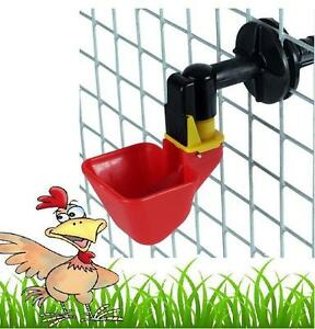Backyard Poultry Supplies Large Auto Cup Drinker For Poultry Cage Drinker Hatching Eggs Automatic Bird Supplies