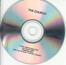THE CHURCH Laurel Canyon 2015 UK 3-trk promo test CD