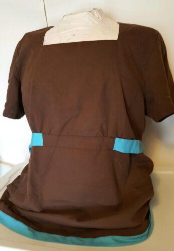 Cherokee Women's Brown Style 2949 Nurse Scrub Top