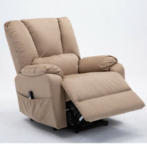Electric-Power-Lift-Recliner-Chair-Sofa-Padded-Seat-Armchair-Lounge-For-Elderly