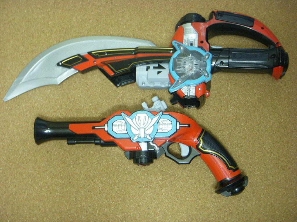 Gokai Gun saber set Power Ranger Kaizoku Sentai Gokaiger Ranger Key Series