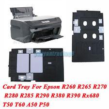 Plastic PVC ID Card Tray For Epson Inkjet Printer T60 T50 R280 R380 A50 P50 Etc.
