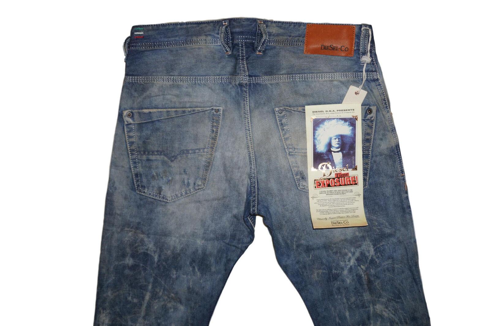 DIESEL Krooley 0886P Jeans Jeans Jeans W31 L32 100% AUTENTICO e25033