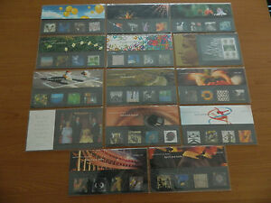 2000 YEAR SET OF 14 PRESENTATION PACKS IN MINT CONDITION( 307to318 +M03 and M04)
