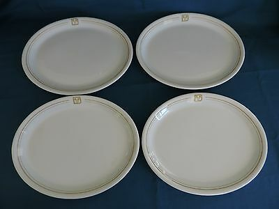 Disney World Dinner Plates Restaurant Ware China Ears Logo (Set of 4) & Disney restaurantware dishes restaurant china collection on eBay!