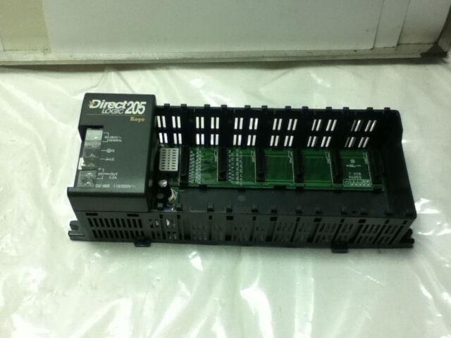Koyo D2-06B Direct Logic 205 Rack chasis automation DIRECT PLC d206b