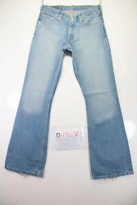 tg L34 D1367 taille vintage utilisés Jeans W30 44 haute patte Levi's cod Bootcut 516 pIRfqR