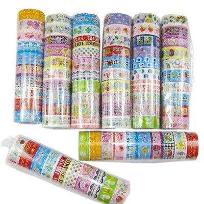 10 rolls of kawaii Grail decor cartoon tape scrapbooking adhesive paper sticker