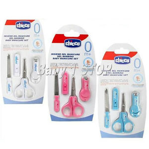 Baby Baby Manicure Set White Brushes, Combs & Scissors