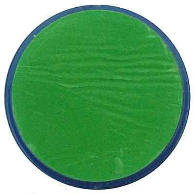 18ML SNAZAROO BRIGHT GREEN FACE BODY PAINT MAKEUP - FANCY DRESS 1118444