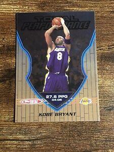 2005-06-Topps-Total-Kobe-Bryant-Total-Performance-TP9-Lakers