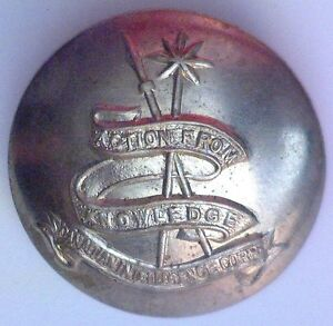 CANADIAN-INTELLIGENCE-CORPS-BRASS-BUTTON-LARGE-SIZE-25mm-1943-to-1968