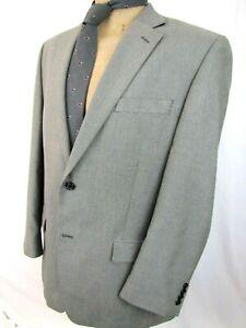 MICHAEL-KORS-Blazer-42R-Light-Gray-Sport-Coat-Jacket
