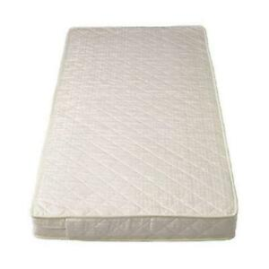 Hypo Allergenic Cot Bed Deluxe Spring Mattress Cotbed Size: 139 X 69 X 13 Cm