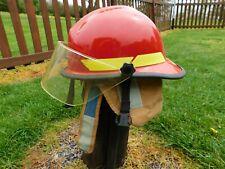 Bullard Red Firefighter Fire Fighter Helmet Amp Visor Hard Hat
