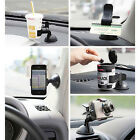 Rotating Car Windshield Mount Holder Stand For Mobile Phone GPS SEAU
